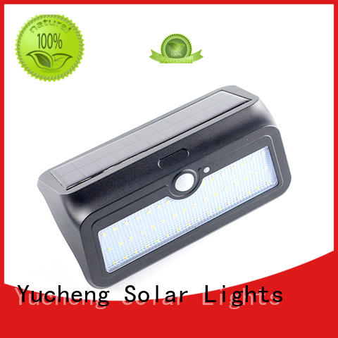 Yucheng semicircular solar outdoor wall lights wholesale for garden