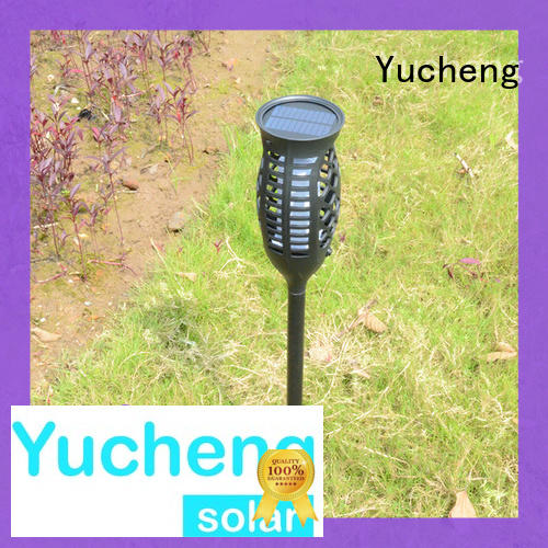 simulate flame solar flame light directly sale for courtyards