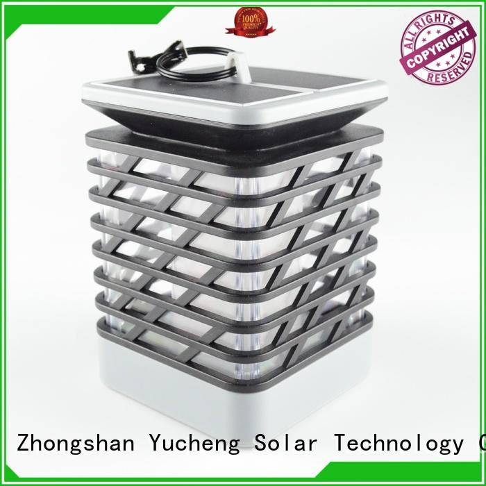 Yucheng square solar flame torch directly sale for home