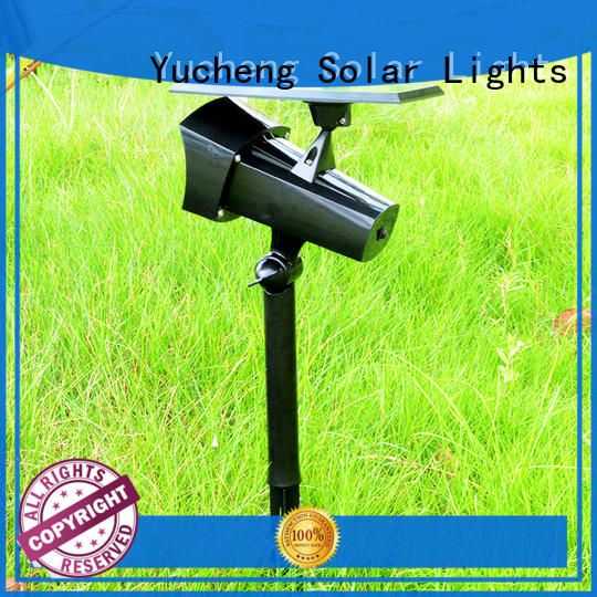 Yucheng solar spotlight factory direct supply for park