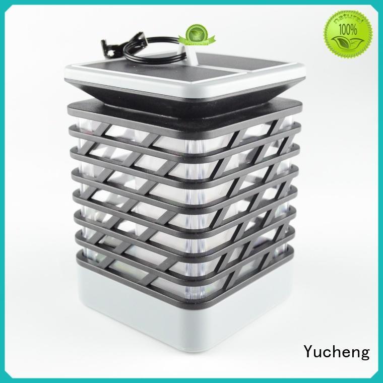 Yucheng simulate flame solar garden lanterns for home
