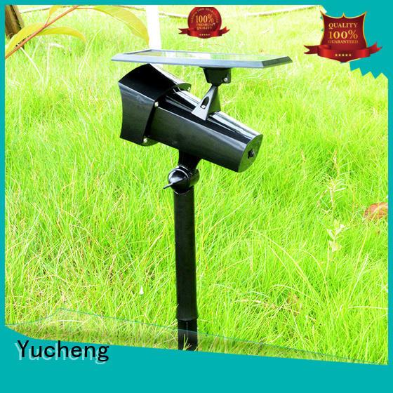 solar powered outside lights powered area solar led garden lights degree Yucheng Brand