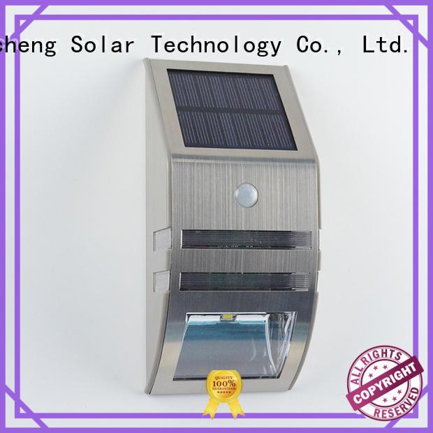 Yucheng solar powered sensor light supplier for garden
