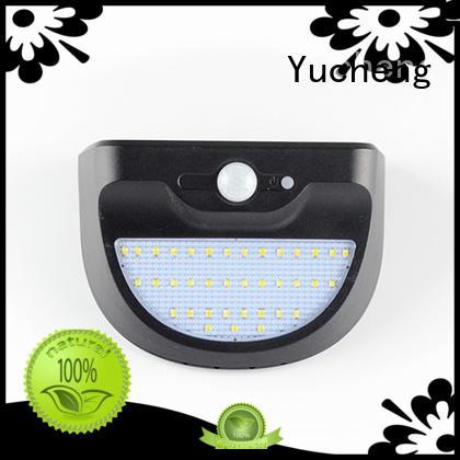 Yucheng Brand lights wall outside solar wall lights with motion sensor motion