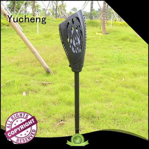 solar flame flickering lamp torch charging outdoor torch Warranty Yucheng