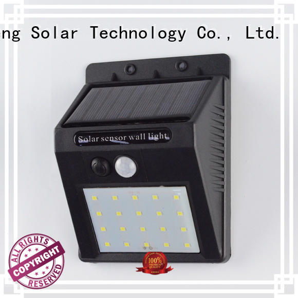 outside solar wall lights with motion sensor detector powered wall Yucheng Brand company