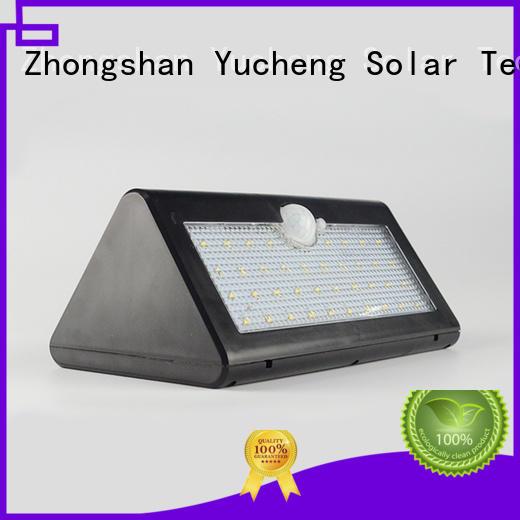 thin semicircular motion solar powered sensor light Yucheng Brand