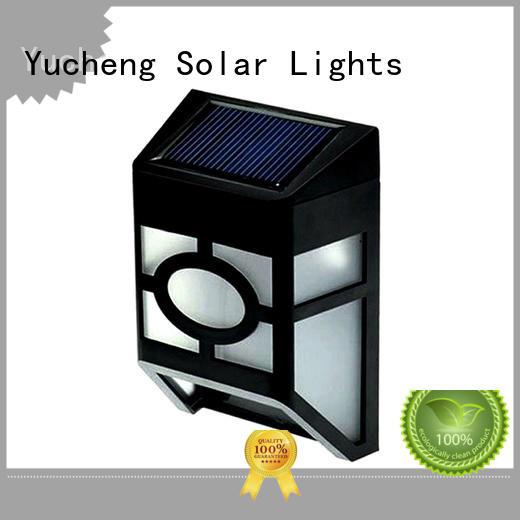 long lasting solar garden fence lights supplier for home