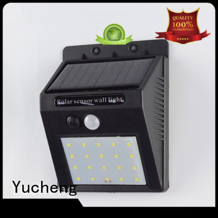 outside solar wall lights with motion sensor pole led solar powered sensor light square company