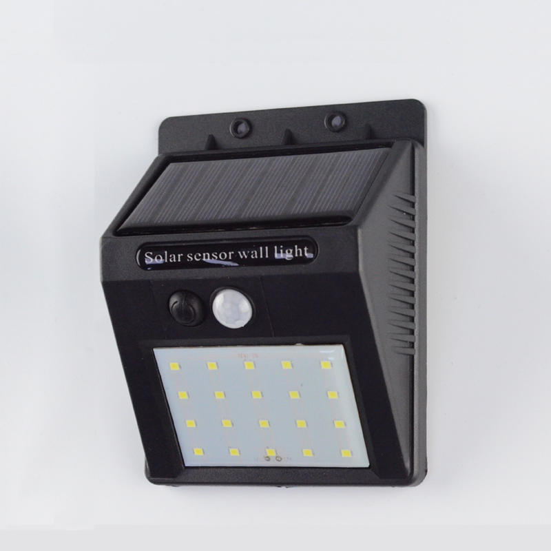 Solar LED Outdoor Wall Light With Motion Detector Item No.: SW5050-PIR