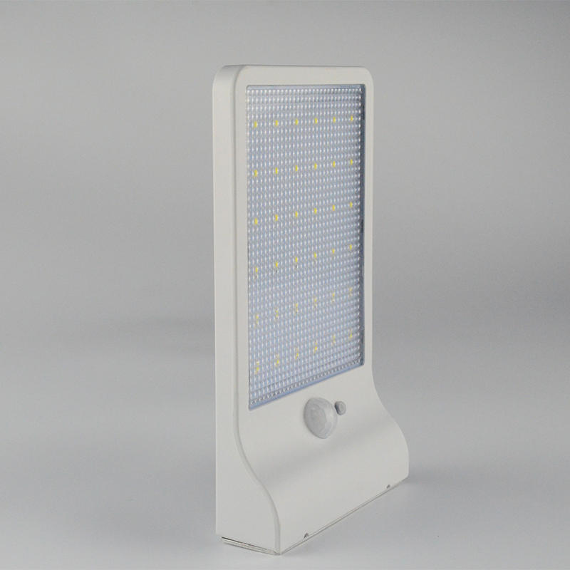 Solar Wall Lights With Mounting Pole,Ultra-thin Square Item No.:SW6011-PIR