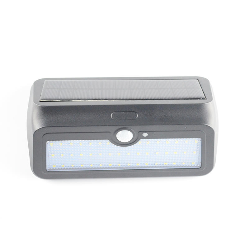 Solar Outdoor Wall Lamp With 46 LEDS Item No.: SW8014-PIR