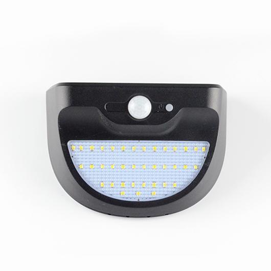 Semicircular Solar Exterior Wall Light With 37 LEDS Item No.: SW8015-PIR