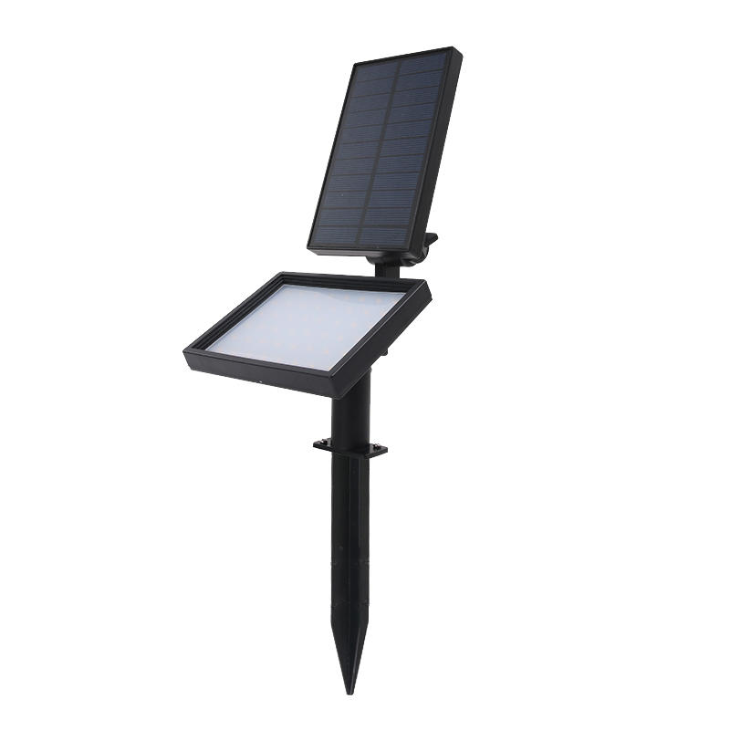 Solar Powered Spotlight With 48 LEDS,Illuminates A Larger Area Item No.: SW6067