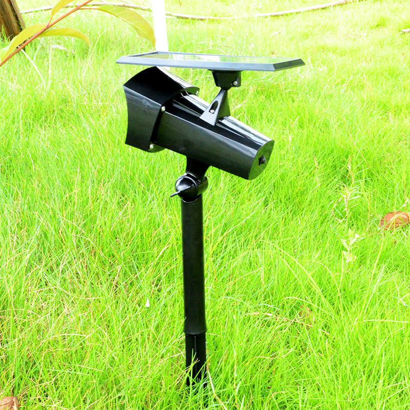 Solar Spotlight With 360 Degree Solar Panel Adjustment Item No.: SW6069