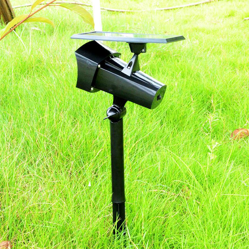 Solar Spotlight With 360 Degree Solar Panel Adjustment Item No.: SW6069