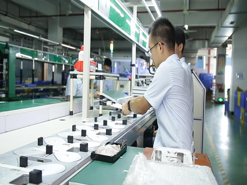 Electronic scale automatic production line
