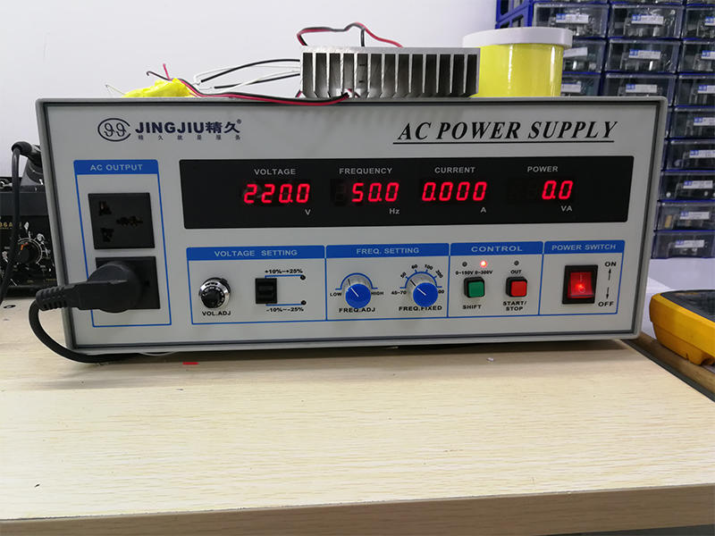 Programmable frequency conversion knob type AC power supply AC test power supply