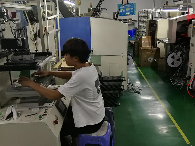 Tin operation on  PCB