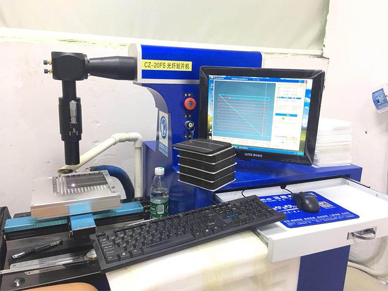 Fiber dicing machine