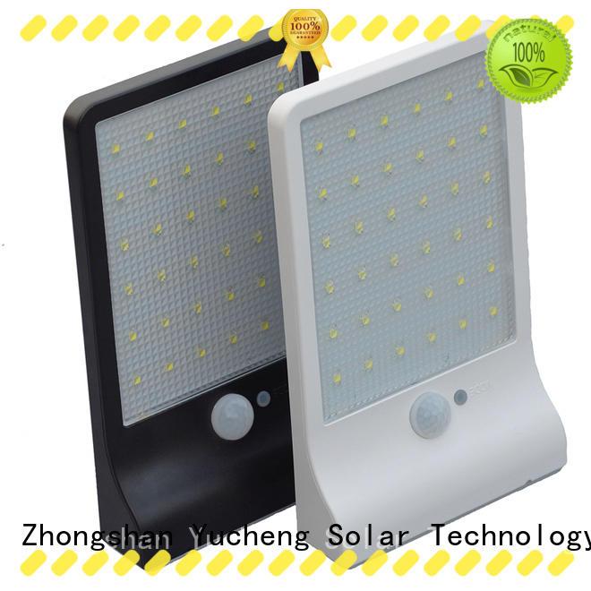 stylish solar sensor light series for pathway