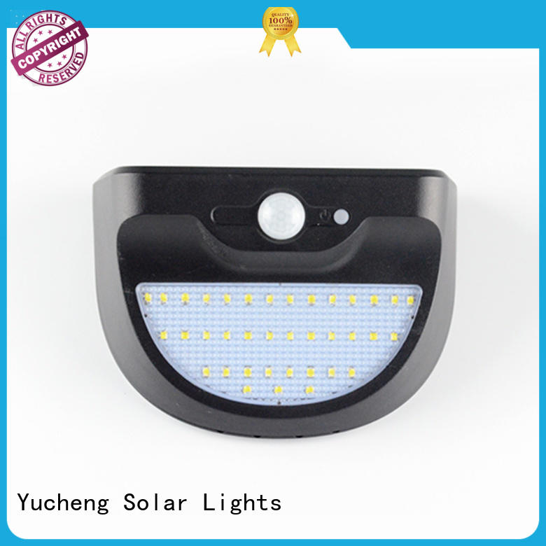 solar sensor light series for docks Yucheng