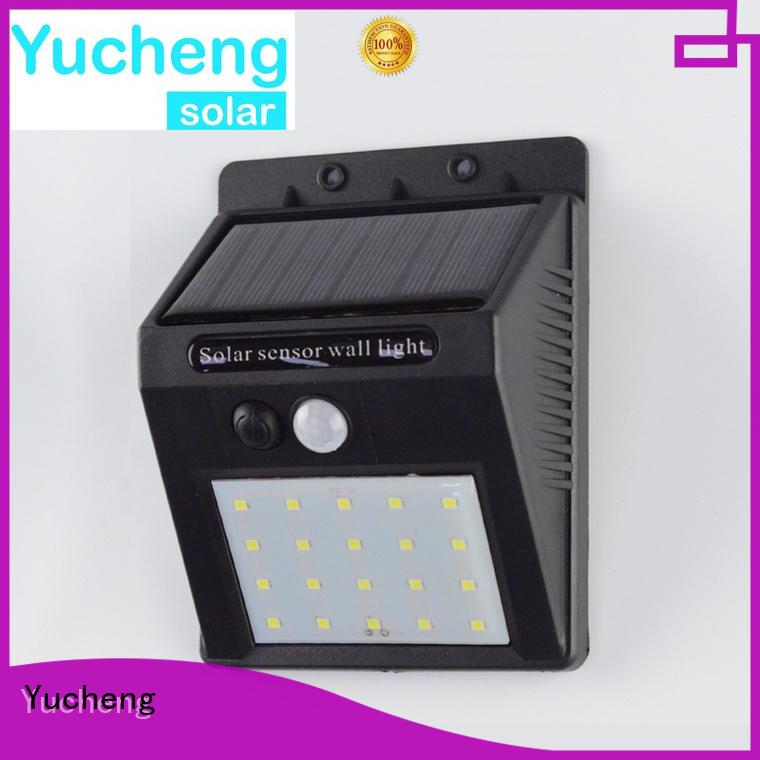 Yucheng professional solar motion sensor light factory direct supply for docks