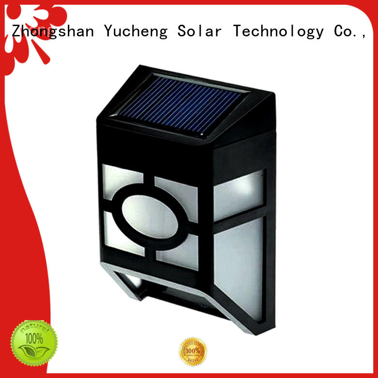 reliable solar fence lights factory for home