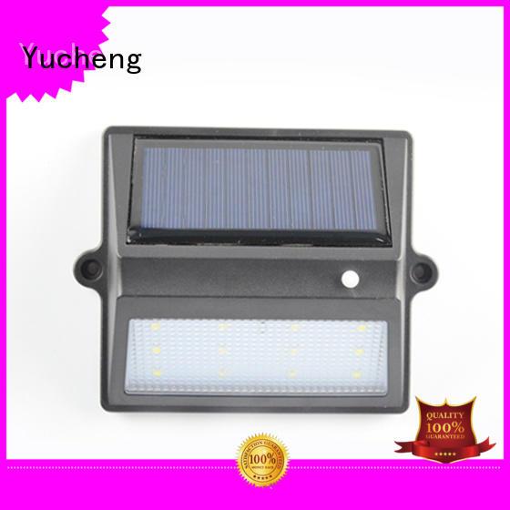fence solar OEM solar garden fence lights Yucheng