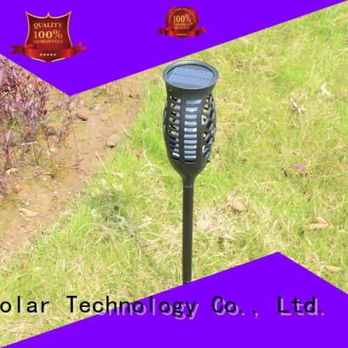 charging lights lantern solar flame flickering lamp torch Yucheng manufacture