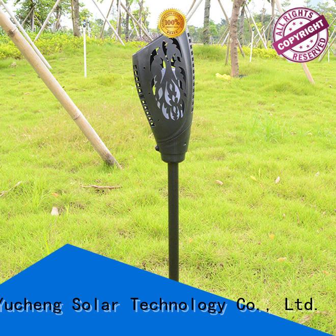 torch solar item solar garden lanterns Yucheng Brand company