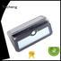 Yucheng Brand detector leds solar powered sensor light led factory