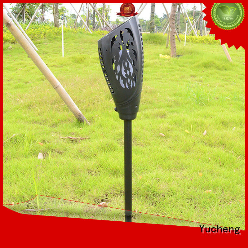simulation charging solar garden lanterns lights Yucheng company