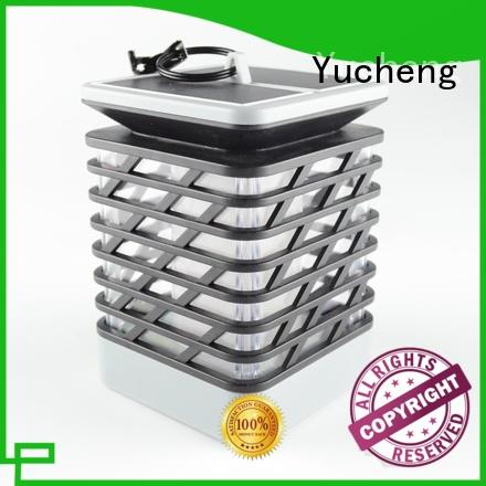 Yucheng solar flame torch customized for courtyards