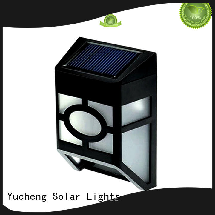 long lasting solar fence lights directly sale for home