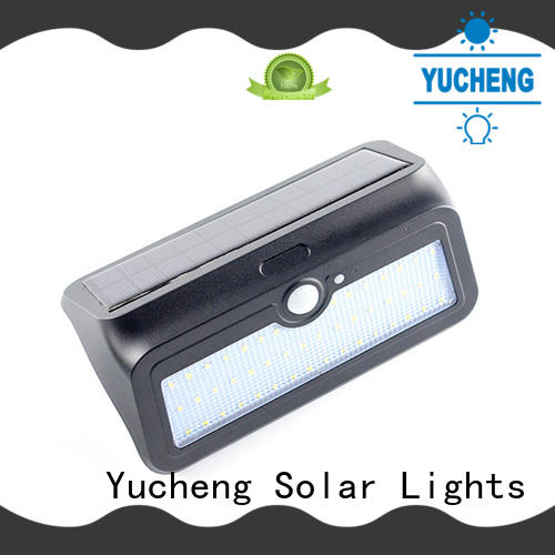 Yucheng solar led motion sensor light factory direct supply for stair