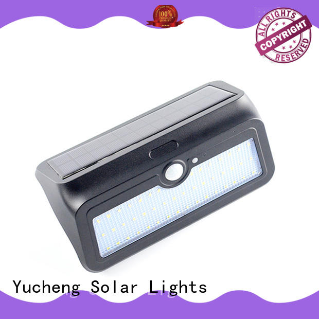 outdoor solar wall lights customized for docks