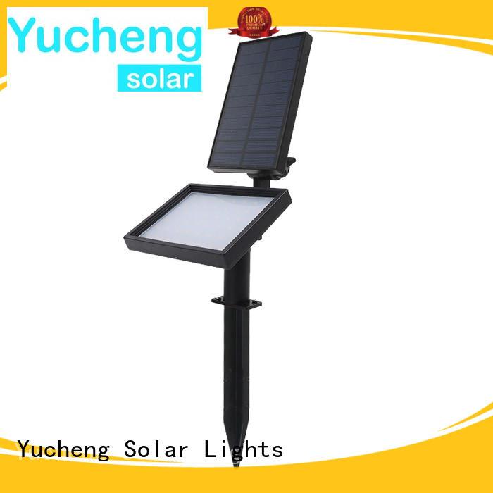 Yucheng solar led garden lights manufacturer for garden