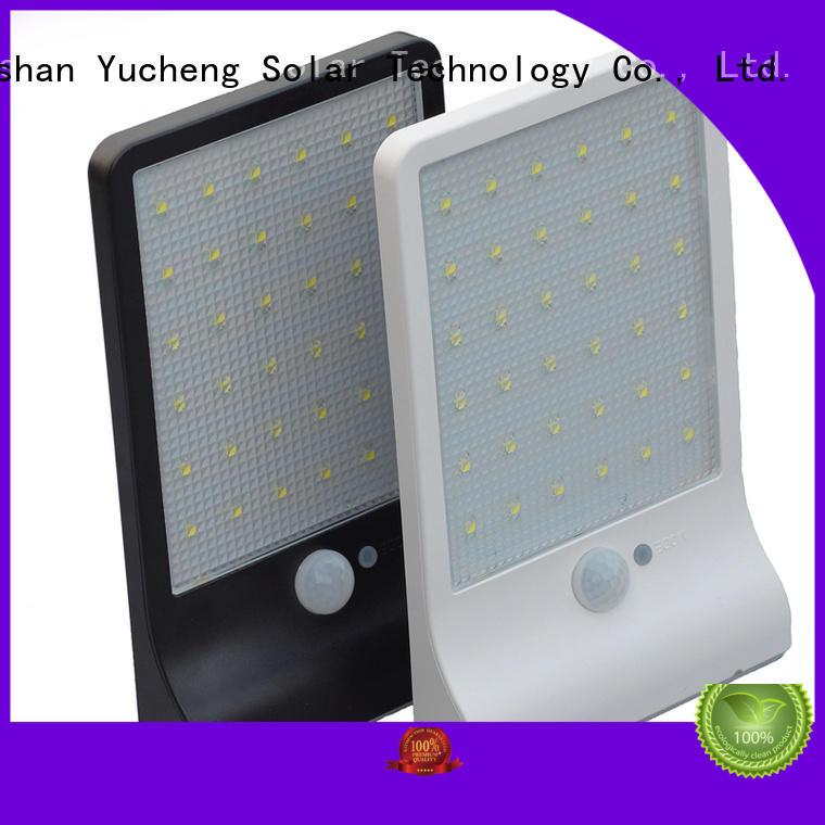 security solar powered sensor light solar Yucheng company
