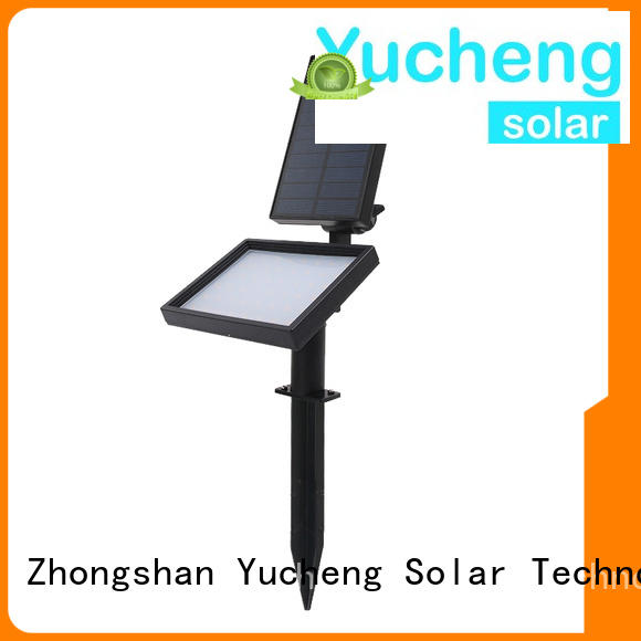 Custom area solar led garden lights larger Yucheng
