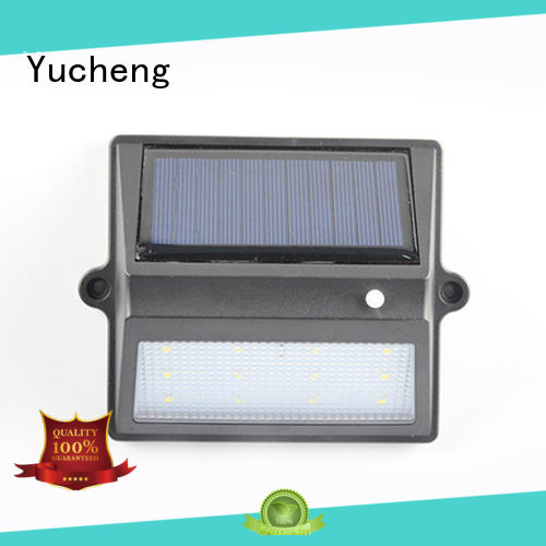 Yucheng solar fence post lights supplier for park