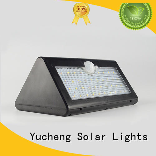 Yucheng waterproof outdoor solar wall lights manufacturer for docks