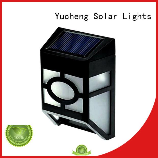 Yucheng solar fence lights manufacturer for park
