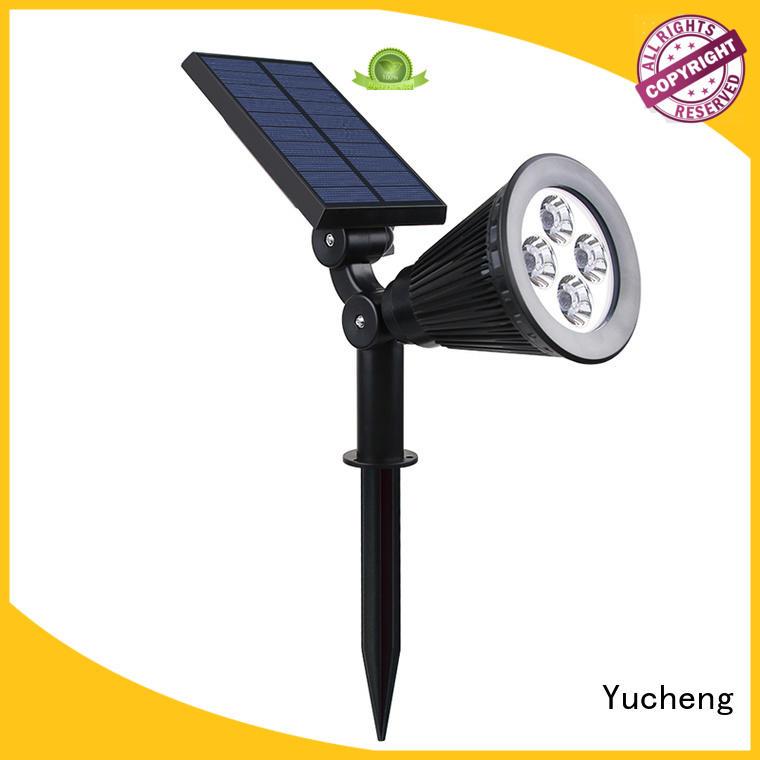 solar powered spotlights for wall Yucheng