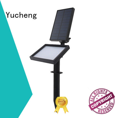 Yucheng outdoor solar spot lights supplier for home
