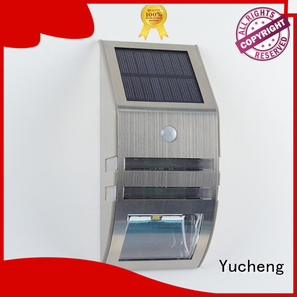 outside solar wall lights with motion sensor leds Bulk Buy pole Yucheng