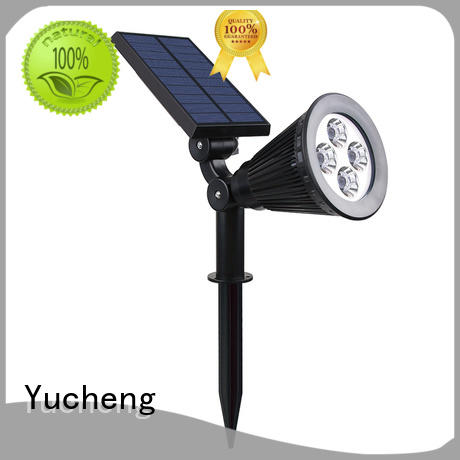 Yucheng durable solar led garden lights customized for home