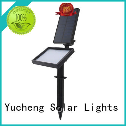 Yucheng vacuum plating solar lawn lights supplier for garden
