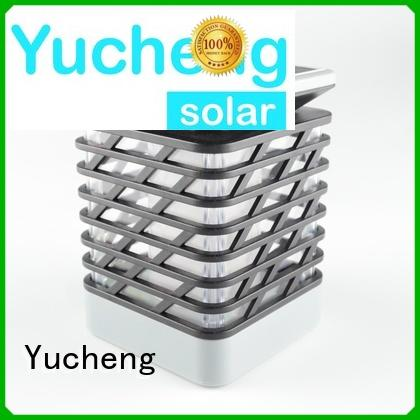 solar flame flickering lamp torch simulation solar garden lanterns Yucheng Brand