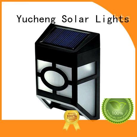 Yucheng excellent solar fence lights manufacturer for park